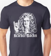 Sir Isaac Newton Science Rocks Unisex T-Shirt