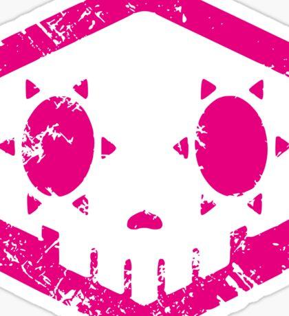 Sombra Skull Sticker