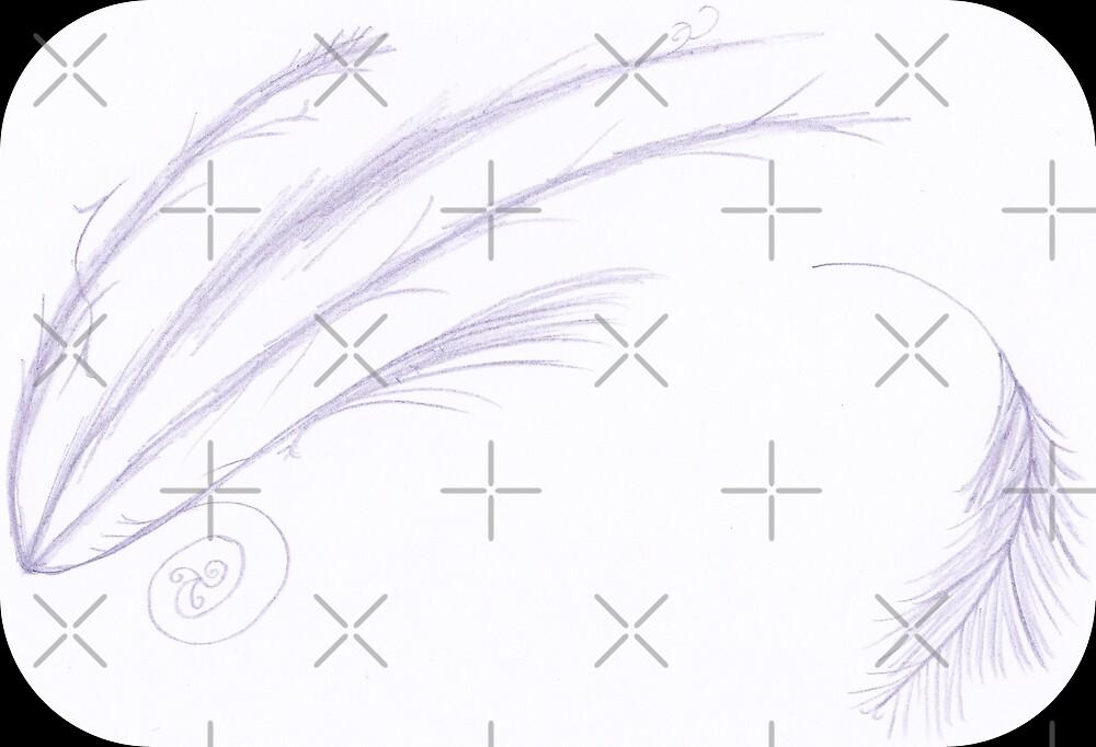 M.I. #27 |☽/☼| Feathery Purple Streaks by Naean