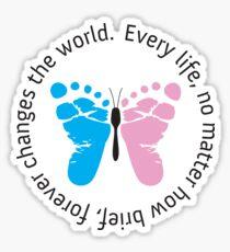 Infant Loss Awareness - Butterfly Sticker