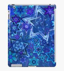 Star of David Hanukkah Night Sky 2 iPad Case/Skin