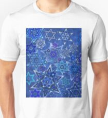 Star of David Hanukkah Night Sky 1 T-Shirt