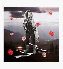 Bardot Roses Photographic Print