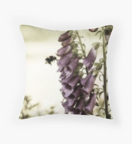 British Summertime Throw Pillow