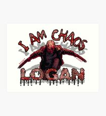 Logan Old MAN I AM Chaos Art Print