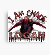 Logan Old MAN I AM Chaos Canvas Print