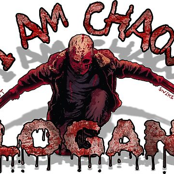 Logan Old MAN I AM Chaos by dontpanictees