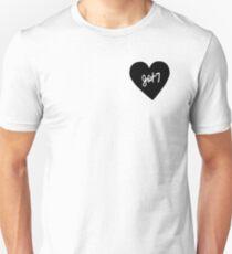 GOT7 Heart Patch kpop Unisex T-Shirt