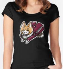 Corgi Baggins  Women's Fitted Scoop T-Shirt