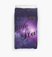 Lass uns gehen Rattle The Stars - Thron aus Glas Design Bettbezug