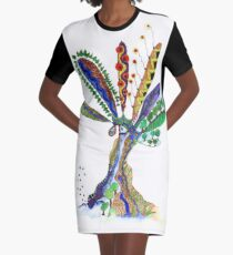Tree of Life 7 Graphic T-Shirt Dress