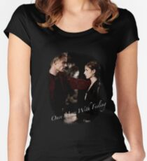 Spike And Buffy - Once More With Feeling Women's Fitted Scoop T-Shirt