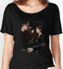 Spike And Buffy - Once More With Feeling Women's Relaxed Fit T-Shirt