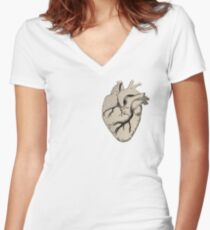 Florence and the Machine Heart Women's Fitted V-Neck T-Shirt
