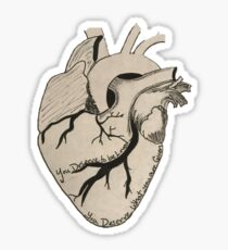 Florence and the Machine Heart Sticker