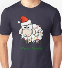 Fleece Navidad - Christmas Sheep T-Shirt