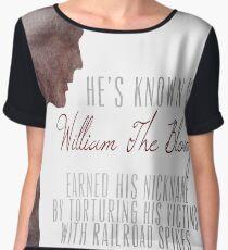 "William ""The Bloody"" Pratt - Spike - Chiffon Top"