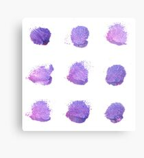 Lipstick and purple : New romance art in Shop Metal Print