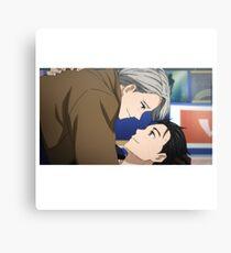Yuri!!! on Ice - First Kiss Canvas Print