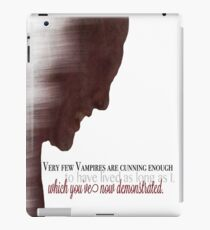 The Master - Buffy iPad Case/Skin
