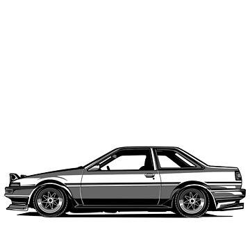"AE86 ""HACHIROKU"" by artisa"