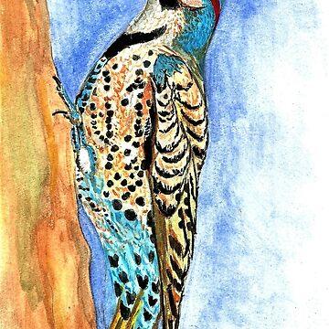 Woodpecker by princesssadie40