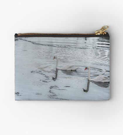 Swans In the Light! Studio Pouch
