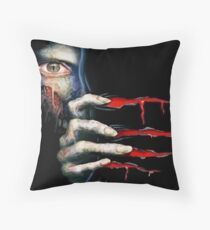 Capcom Resident Evil 2 Classic RARE Design. 100% Redrawn In Adobe Ilustrator Vector Format. Throw Pillow