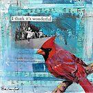 Wonderful Cardinal by Eva Crawford