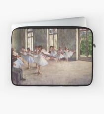 Edgar Degas French Impressionism Oil Painting Ballerinas Rehearsing Laptop Sleeve