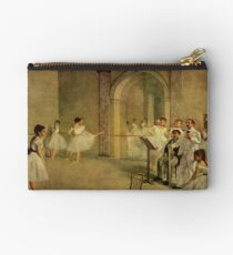 Edgar Degas French Impressionism Oil Painting Dance School Studio Pouch