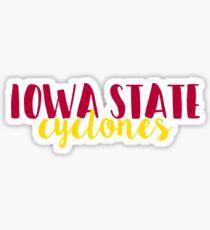Iowa State Cyclones Sticker
