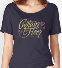 Captain Floor Women's Relaxed Fit T-Shirt