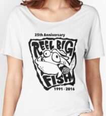 REEL BIG FISH 25TH ANNIVERSARY 1991-2016 Women's Relaxed Fit T-Shirt
