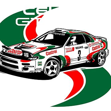 CELICA GT FOUR by artisa