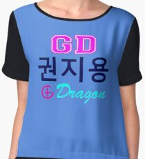 ♥♫Big Bang G-Dragon Cool K-Pop GD Clothes & Phone/iPad/Laptop/MackBook Cases/Skins & Bags & Home Decor & Stationary♪♥ Chiffon Top