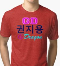 ♥♫Big Bang G-Dragon Cool K-Pop GD Clothes & Phone/iPad/Laptop/MackBook Cases/Skins & Bags & Home Decor & Stationary♪♥ Tri-blend T-Shirt