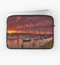 River Yar Sunset Laptop Sleeve