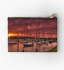 River Yar Sunset Studio Pouch