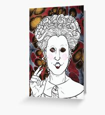Winifred Sanderson, the Eldest Sister Greeting Card