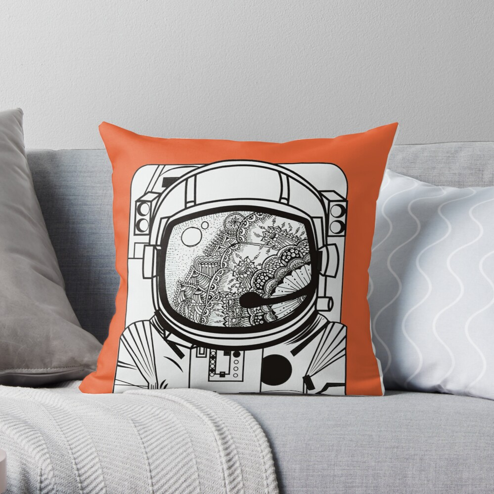 Searching for human empathy 1 Throw Pillow