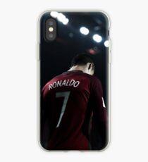 cr7 in Portuguese team iPhone Case