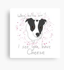 Cheese Canvas Print