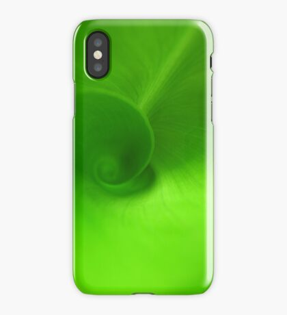 Green Swirl iPhone Case/Skin