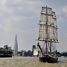Tall Ship Morgenster by Barry Goble