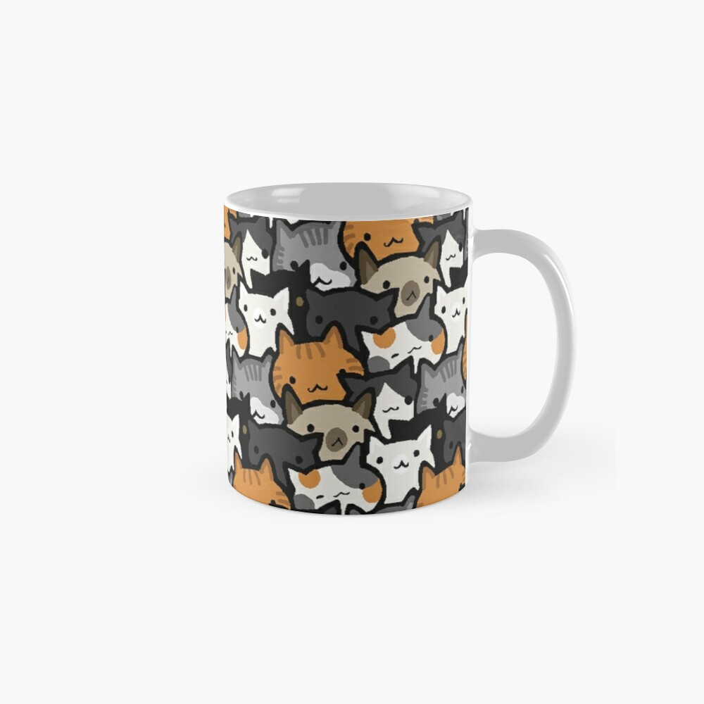 Cat Crowd Classic Mug