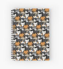 Cuaderno de espiral Cat Crowd
