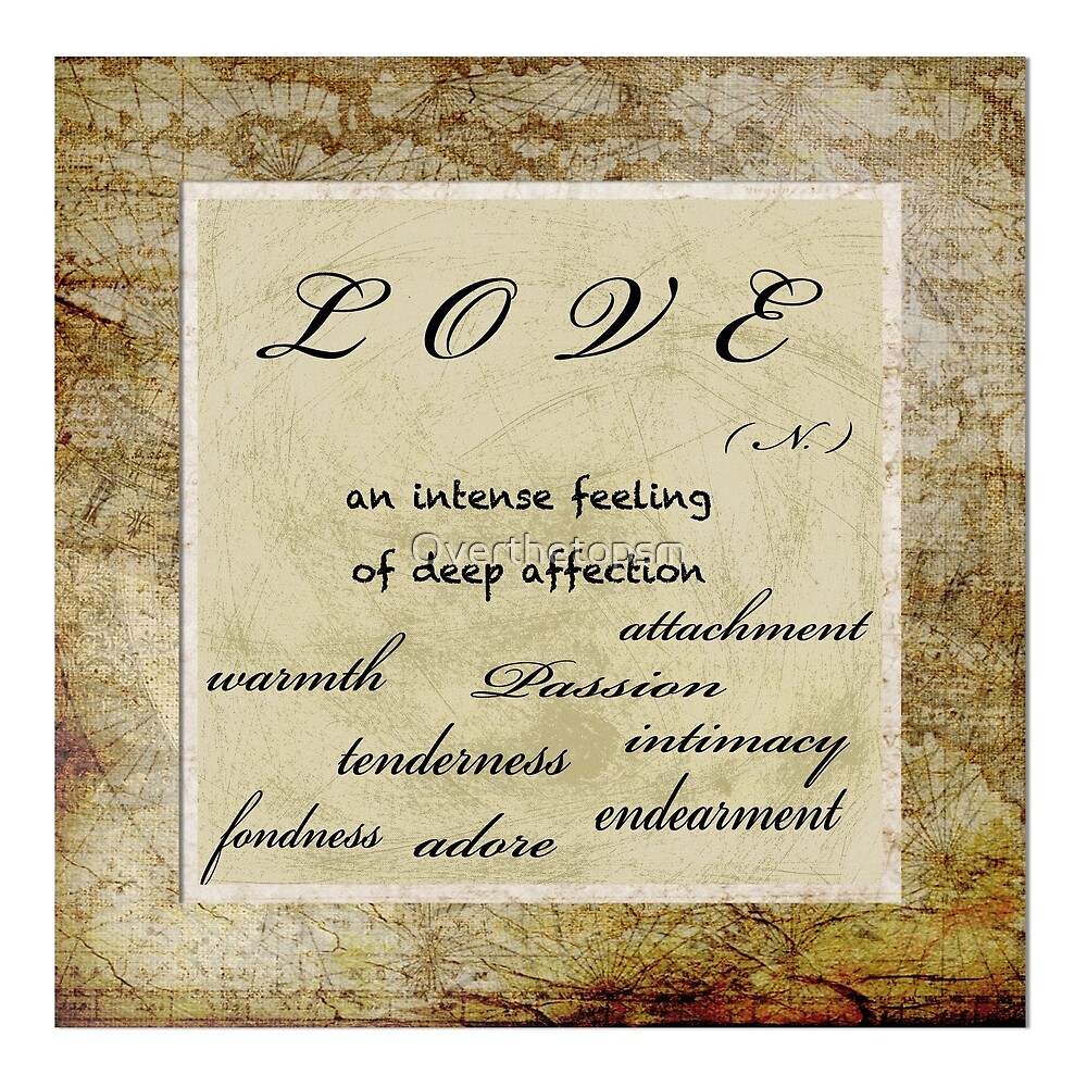 LOVE   by Saundra Myles
