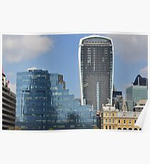 The Walkie Talkie Building Poster