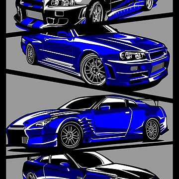 Paul Walker GTR by artisa